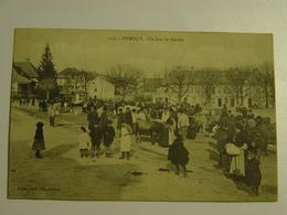 HAUTE SAVOIE-RUMILLY-UN JOUR DE MARCHE ED PITTIER ANIMEE SELECTION - Rumilly