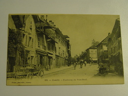 HAUTE SAVOIE-RUMILLY-992-FAUBOURG DU PONT NEUF ED PITTIER - Rumilly