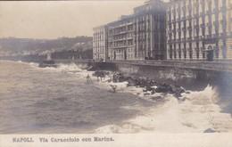 NAPOLI, VIA CARACCIOLO CON MARINA. NPG. CIRCA 1910 NON CIRCULEE - BLEUP - Napoli
