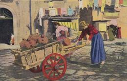 NAPOLI, COSTUMI. VENDITRICE DI ACQUE MINERALI. MTP. CIRCA 1910 NON CIRCULEE - BLEUP - Napoli