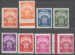 Yugoslavia Republic 1946 Porto Mi#89-96 Mint Never Hinged - 1945-1992 Socialistische Federale Republiek Joegoslavië