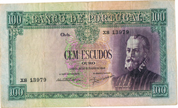 PORTUGAL -100$00 (CEM ESCUDOS) CH 6 - PEDRO NUNES. - Portugal