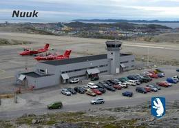 Greenland Nuuk Airport  New Postcard Grönland Flughafen AK - Groenland