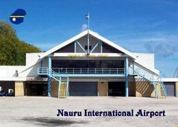Nauru International Airport New Postcard Fkughafen AK - Nauru