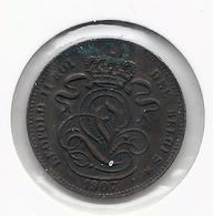 LEOPOLD II * 1 Cent 1907 Frans * Z.Fraai / Prachtig * Nr 5173 - 1865-1909: Leopold II