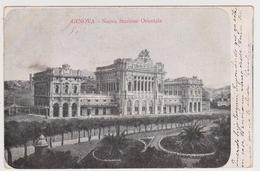 1400/ GENOVA Nuova Stazione Orientale.- Viaggiata Nel 1935 Da Torino A Tortosa (Spagna)  Circulada De Turín A Tortosa. - Genova (Genoa)