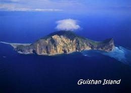 Taiwan Guishan Island Aerial View New Postcard - Taiwan