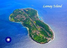 Taiwan Lamay Island Aerial View New Postcard - Taiwan