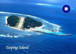 Taiwan Taiping Island Aerial View  New Postcard - Taiwan