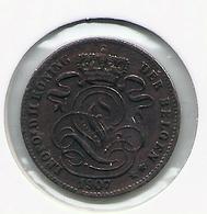 LEOPOLD II * 1 Cent 1907 Vlaams * Prachtig * Nr 5176 - 1865-1909: Leopold II