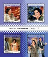 Sierra  Leone  2018 Montserrat Caballé , Spanish Operatic Soprano S201901 - Sierra Leone (1961-...)