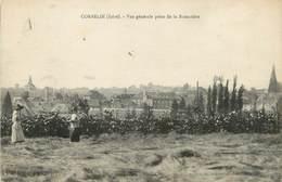 """CPA FRANCE 38 """" Corbelin, Vue Générale Prise De La Romatière"""" - Corbelin"""