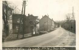 "CARTE PHOTO FRANCE 38 "" Corbelin, La Route 75 à Bois Vion"" - Corbelin"