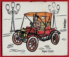 """AGENDA Calendrier Petit Format 1965 """"OPEL 1909"""" - Chemiserie Bonneterie Rue Thiers 78 MANTES-La-JOLIE - Calendriers"""