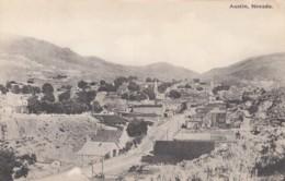 Austin Nevada, General View Of Town C1910s/30s Vintage Albertype Co. Postcard - Verenigde Staten