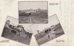 Goldfield Nevada, Gold Mining Boom Town, C1900s Vintage Postcard - Verenigde Staten
