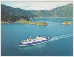 1409/ MS Santa Regina Ferry, Bluebridge, New Zealand.- Non écrite. Unused. No Escrita. Non Scritta. Ungelaufen. - Transbordadores
