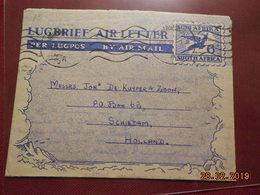 Aerogramme à Destination Des Pays-Bas - South Africa (1961-...)