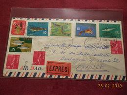 Lettre De 1970 Pour La France - 1926-89 Empereur Hirohito (Ere Showa)