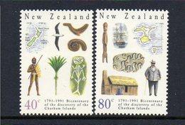 NEW ZEALAND, 1991 CHATHAM ISLANDS 2 MNH - Nuova Zelanda