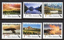 NEW ZEALAND, 2004 TOURISM DEFINS 6 MNH - Nueva Zelanda
