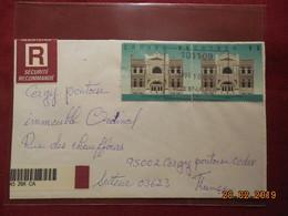 Lettre De 1998 Pour La France En Recommandé - Lettres & Documents