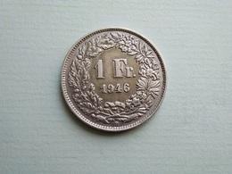 SUISSE    1  Franc  1946   Schweiz - Zwitserland