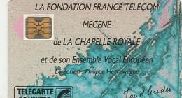 TELECARTE 50.... MECENE DE LA CHAPELLE ROYALE - France