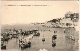 31oks 714 CPA - MARSEILLE - L'ANSE DU PROPHETE ET LE RESTAURANT ROUBION - Marseille