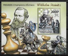 MOZAMBIQUE BF 491 * *  ( Cote 17e )  Echecs Wilhelm Steinitz - Echecs