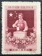 1954 CHINA MNH NG 1st Session Of National Congress - Neufs