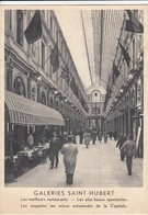 BRUXELLES / BRUSSEL / GALERIES SAINT HUBERT - Cafés, Hôtels, Restaurants