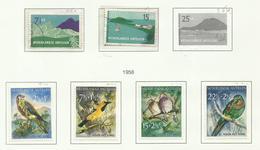 Antilles Néerlandaises N°250, 251, 259 à 262 Cote 6.75 Euros - Curacao, Netherlands Antilles, Aruba