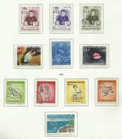 Antilles Néerlandaises N°297 à 299, 301, 303 à 308 (302 Abîmé Offert) Cote 9.45 Euros - Curacao, Netherlands Antilles, Aruba