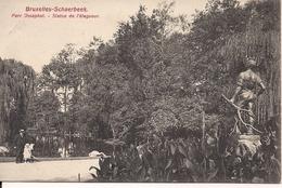 BRUSSEL BRUXELLES  SCHAERBEEK PARC JOSEPHAT STATUE DE L'ELAGUEUR - Forêts, Parcs, Jardins