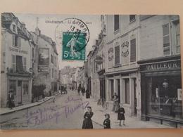 Chaumont - La Rue De La Gare - Monuments
