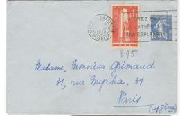 14598 - Avec Surtaxe - Postmark Collection (Covers)