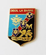 Pin's BLASON Deuil La Barre - Villes