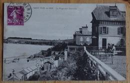 50 : Saint-Pair-sur-Mer - La Plage Vers Granville - Animée : Petite Animation - (n°14560) - Saint Pair Sur Mer