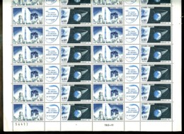 1464 / 1465 - Fusée Diamant Et Satellite A1 - Feuille Complète De 16 Triptyques - Neuf N** - Très Beau - Feuilles Complètes