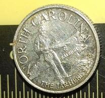 ERROR--USA--NORTH CAROLINA--THE TARHEEL STATE--RALEIGH--DOGWOOD--SILVER - Other