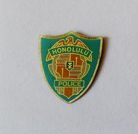 Pin's BLASON Hononolulu Police - Villes