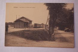 ALBAN. La Gare Et Avenue De La Gare - Alban