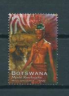 1999 Botswana Miss Universe Used/gebruikt/oblitere - Botswana (1966-...)