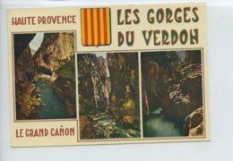 Multivues - Gorges Du Verdon - Oblit En 1968 - France