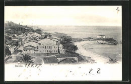 AK Bahia, Ortspartie Am Strand - Brazil
