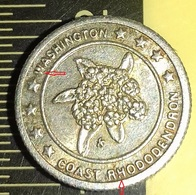 ERROR--USA--WASHINGTON--THE EVERGREEN STATE --OLIMPIA--COAST RHODODENDRON---SILVER - USA