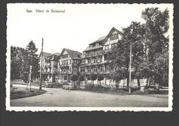 Spa - Hôtel De Balmoral - éd. Safimi, Micheroux - Photo Véritable - VW Coccinelle / Käfer / Kever / Beetle - Spa