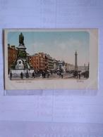 Irlanda Sackville Street Dublín Postcard Early Undivided Back - Dublin