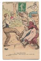 """Illustrateue  A P  Jarry    -  """" Peur  Etr;  A  L,eze   """" - Humour"""
